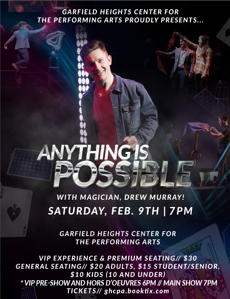 Anything Is Possible Magic Show Poster