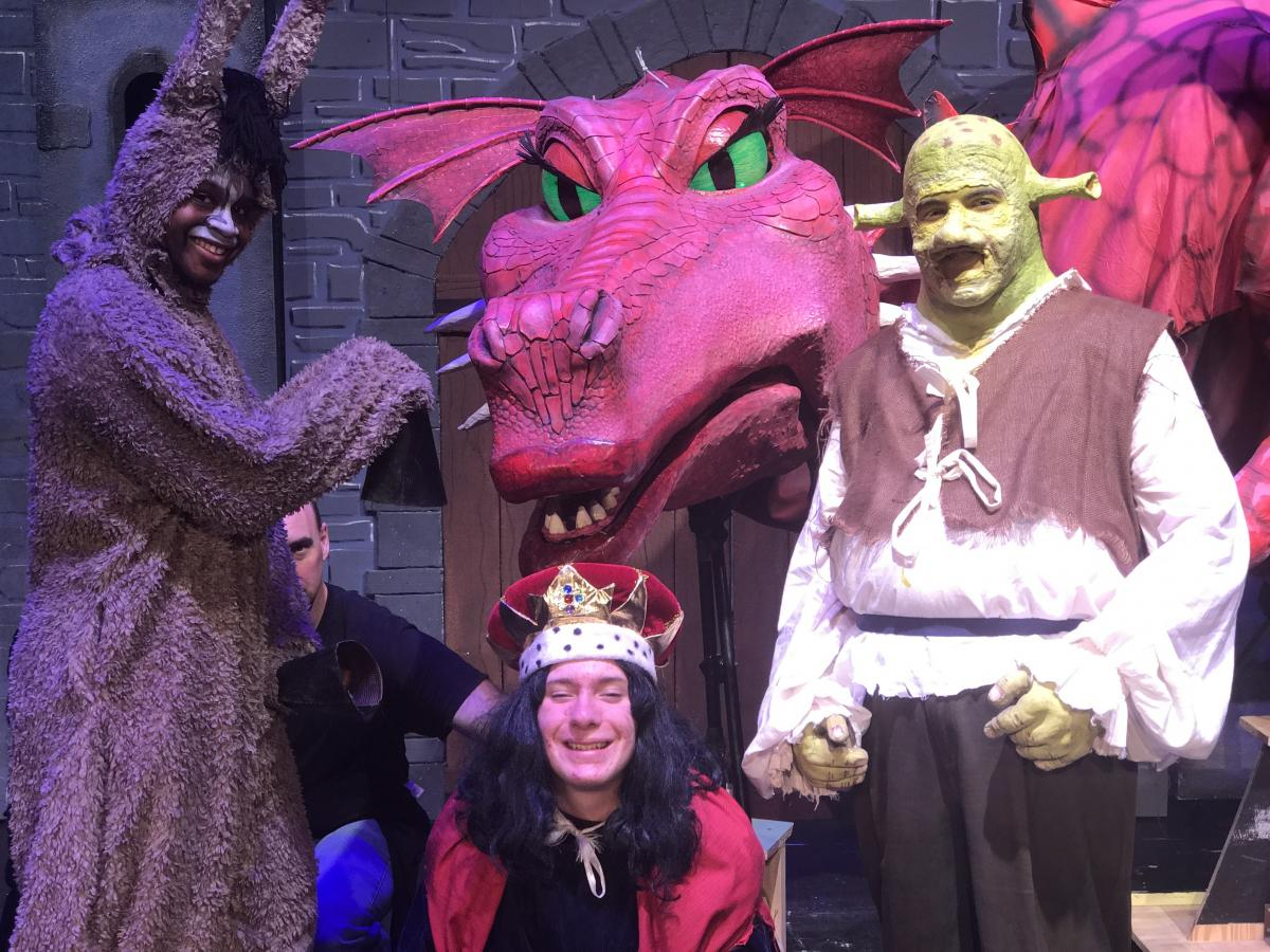 Shrek, Donkey and Lord Farquaad